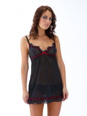 black-and-red-chemise